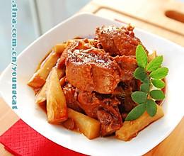 不用一滴油做美味鸭子之续版--鲜香豆豉鸭的做法
