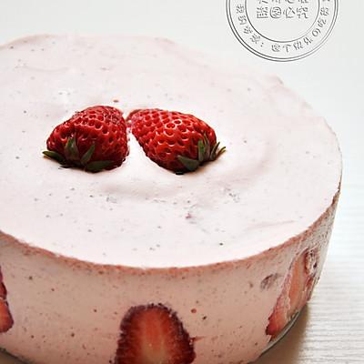 布丁美食铺——草莓慕斯