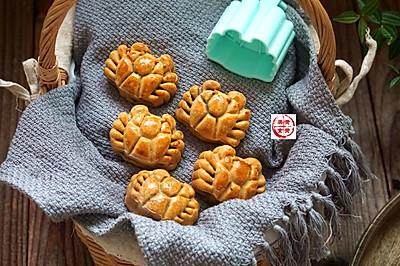 螃蟹豆沙月饼