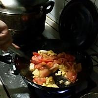 西红柿鸡蛋汤面的做法图解3