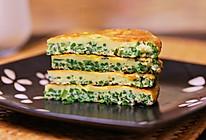 #夏日消暑,非它莫属#「韭菜梗鸡蛋饼」超快手早餐的做法