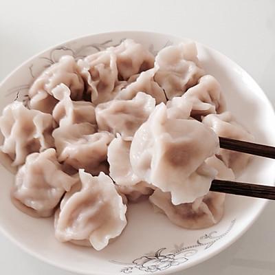 猪肉萝卜水饺