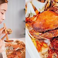 鲜的吞掉舌头的大满足海鲜锅