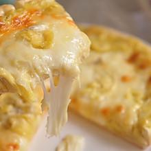 #安佳马苏里拉芝士挑战赛#榴莲披萨