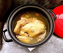 清炖三黄鸡(3.5斤的整只鸡哟)的做法