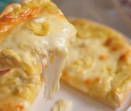#安佳马苏里拉芝士挑战赛#榴莲披萨的做法