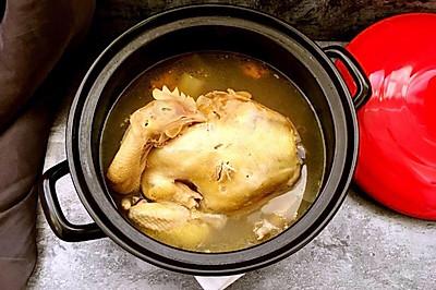 清炖三黄鸡(3.5斤的整只鸡哟)