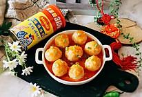 茄汁山药鸡肉丸子的做法
