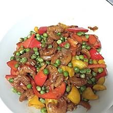 豌豆虾干小炒