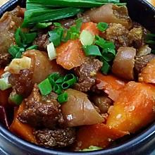 胡萝卜炖羊肉#鲜动生活甘草羊#
