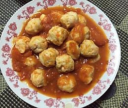 茄汁鸡肉丸子的做法