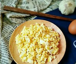 山东小吃 鸡蛋蒜泥的做法