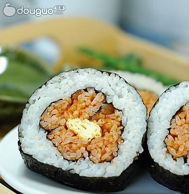 梅花寿司 的做法