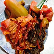 四川泡菜,开胃菜