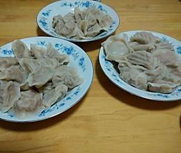 白菜青椒肉馅饺子的做法