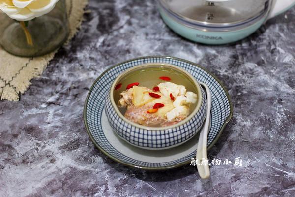 鱼胶汤的做法