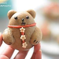 萌萌哒小熊馒头