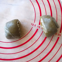 抹茶豆沙酥的做法图解10