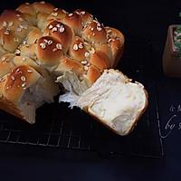 全麦花卷面包