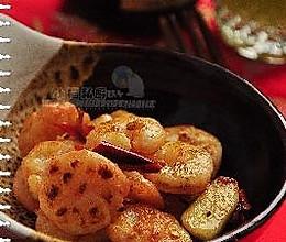 蒜辣虾圆的做法