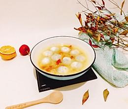 #《风味人间》美食复刻大挑战#陈皮醪糟汤圆的做法