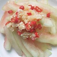 #炎夏消暑就吃「它」#凉拌西瓜皮的做法图解8