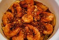 白菜豆腐烩大虾的做法
