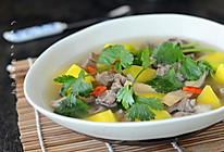 黄芪羊肉汤#比暖男更暖的是#的做法
