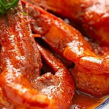 【茄汁大虾】100年前的番茄吃法,烧大虾绝配!