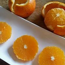 快手剥橙子