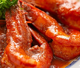 【茄汁大虾】100年前的番茄吃法,烧大虾绝配!的做法