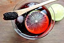喝了变美丽—桑葚汁#黑人牙膏一招制胜#的做法