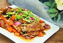 营养下酒菜--干煸孜然小羊排的做法