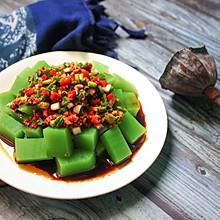 #花10分钟,做一道菜!#  翡翠凉粉