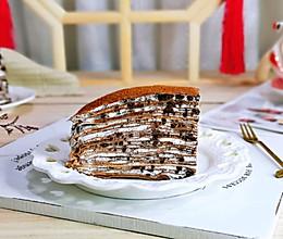 #我们约饭吧#奥利奥可可千层蛋糕的做法