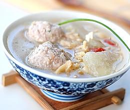 【蛤蜊冬瓜肉丸汤】——鲜掉眉毛的汤 的做法
