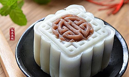 红豆沙冰皮月饼的做法