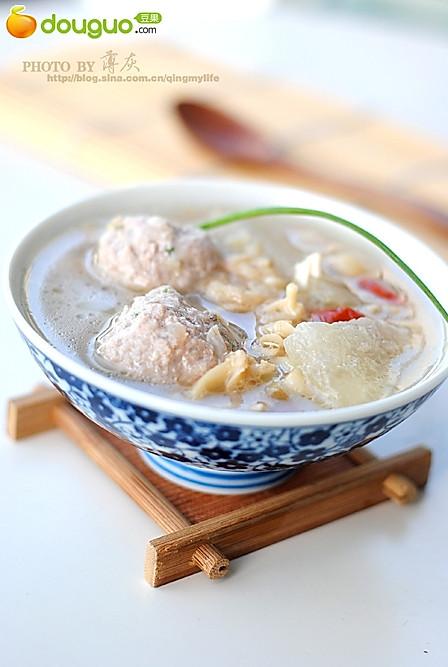 【蛤蜊冬瓜肉丸汤】——鲜掉眉毛的汤的做法