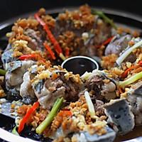 菜脯粒蒸盘龙鳗的做法图解9