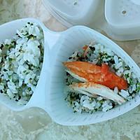 #父亲节,给老爸做道菜#蟹柳海苔饭团的做法图解7