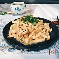 海鲜菇炒肉丝