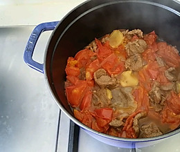 西红柿炖牛肉(牛腱,牛腩,上脑都可以)的做法