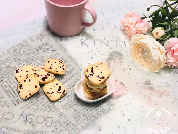 经典的蔓越莓曲奇饼干的做法