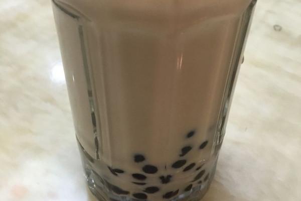 健康珍珠奶茶(快速煮珍珠)的做法