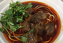 川味红烧牛肉面的做法