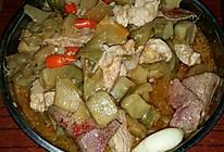 榨菜炒猪肝瘦肉的做法