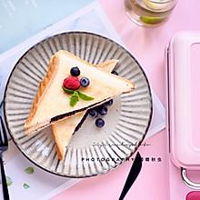 萬物隨便夾,三分鐘早餐,快手紫米三明治