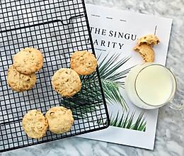 #10分钟早餐大挑战#燕麦饼干的做法