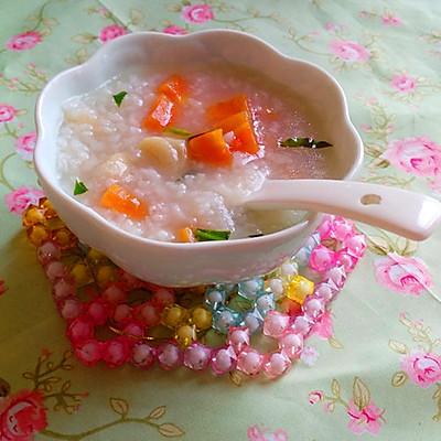 胡萝卜瑶柱粥