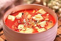 虾头豆腐汤的做法